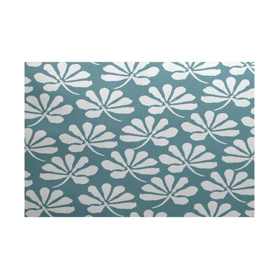 Allen Park Blue Indoor/Outdoor Rug Rug Size: Rectangle 2 x 3
