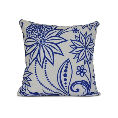 Allen Park Throw Pillow Color: Blue, Size: 26 H x 26 W x 3 D