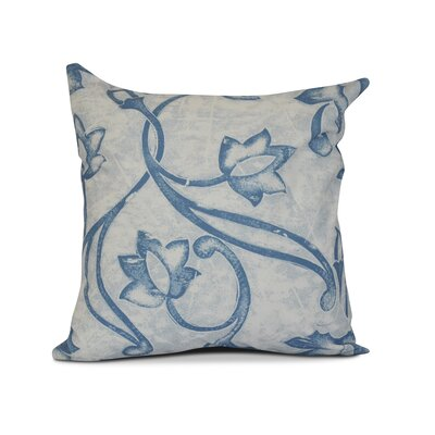 Allen Park Outdoor Throw Pillow Size: 18 H x 18 W x 3 D, Color: Blue