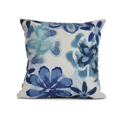 Allen Park Outdoor Throw Pillow Color: Blue, Size: 18 H x 18 W x 3 D