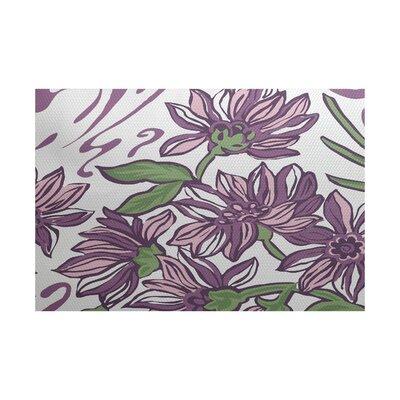 Allen Park Purple Indoor/Outdoor Area Rug Rug Size: 5 x 7