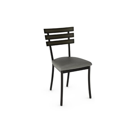 Austin Side Chair Finish: Gun Metal Finish/Medium Gray Polyurethane