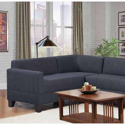 Bond Right Arm Loveseat Color: Graphite