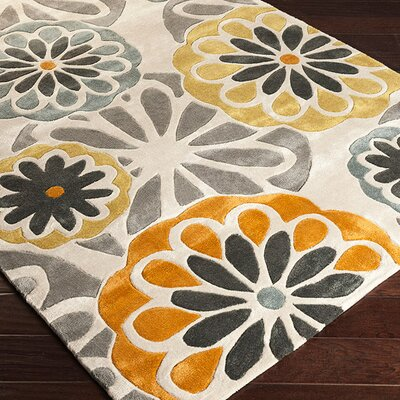 Millington Bone/Kelp Brown Rug Rug Size: Rectangle 9 x 13