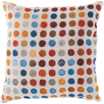 Kelston Surrounded by Circles Outdoor Throw Pillow Size: 18 H x 18 W x 4 D