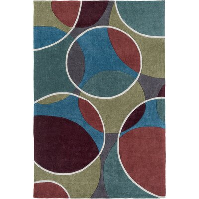 Millington Hand-Tufted Area Rug Rug size: Rectangle 5 x 8