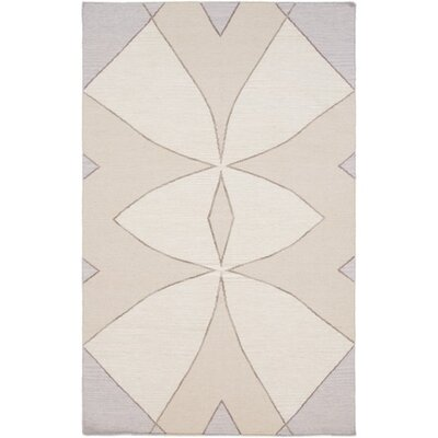 Aikens Hand-Woven Neutral Area Rug Rug Size: Rectangle 5 x 76