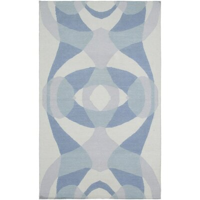 Aikens Hand-Woven Gray Area Rug Rug Size: Rectangle 5 x 76