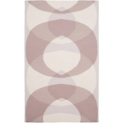 Aikens Hand-Woven Pink/Purple Area Rug Rug Size: Rectangle 8 x 10
