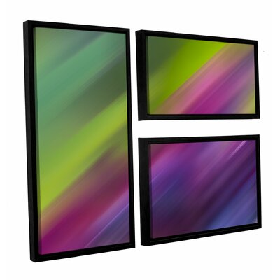 Frozen Light 3 Piece Framed Graphic Art Set