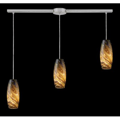Newberry 3-Light Linear Pendant