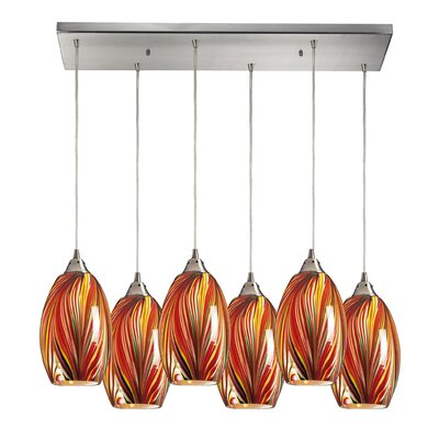 Flemington 6-Light Kitchen Island Pendant