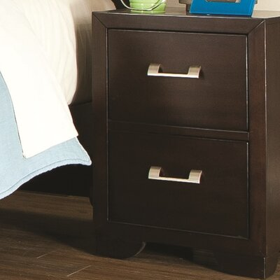 Clarksville 2 Drawer Nightstand