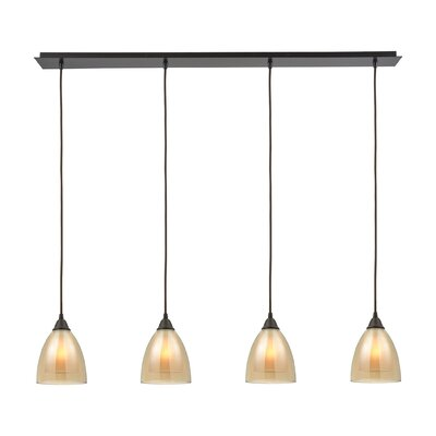 Albany 4-Light Kitchen Island Pendant