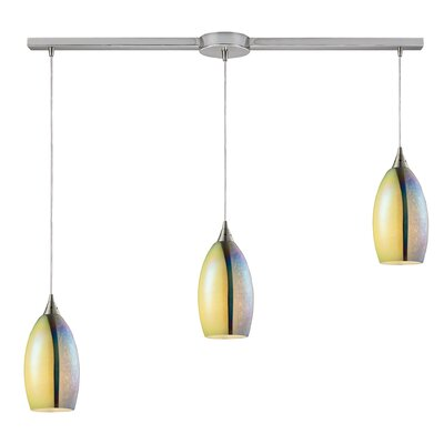 Kingston Seymour 3-Light Kitchen Island Pendant