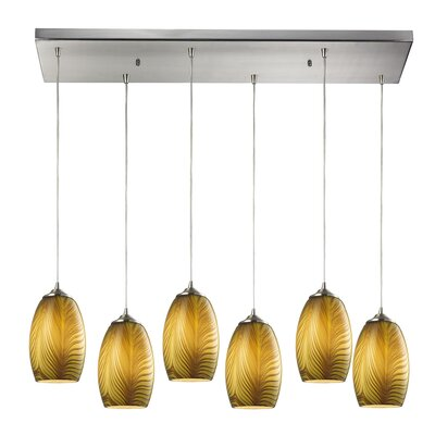 Iota 6-Light Kitchen Island Pendant