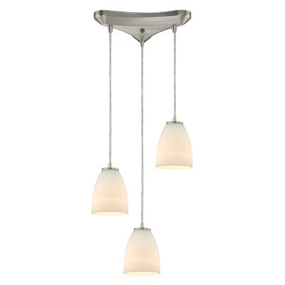 Hermione 3-Light Kitchen Island Pendant