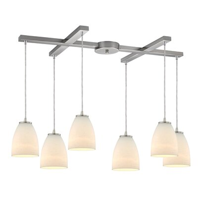 Hermione 6-Light Kitchen Island Pendant