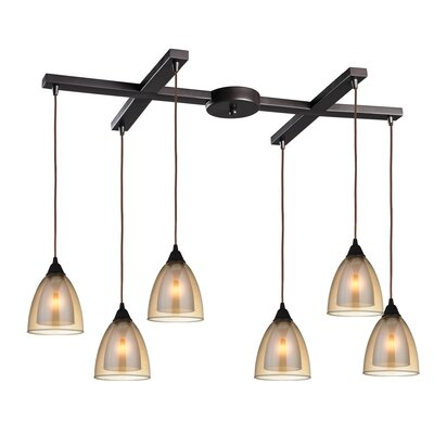 Albany 6-Light Kitchen Island Pendant