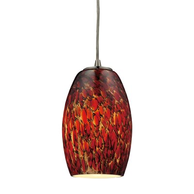 Dorado 1-Light Mini Pendant Bulb Type: 100W Med. Bulb