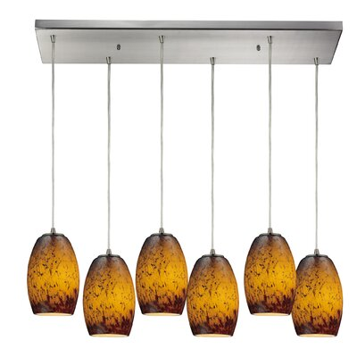 Dorado 6-Light Kitchen Island Pendant