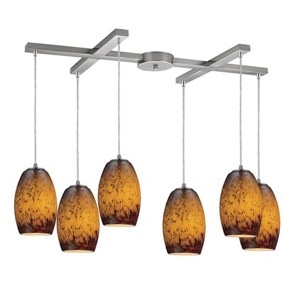 Dorado 6-Light Kitchen Island Pendant