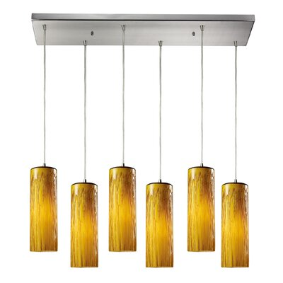 Cancer 6-Light Kitchen Island Pendant