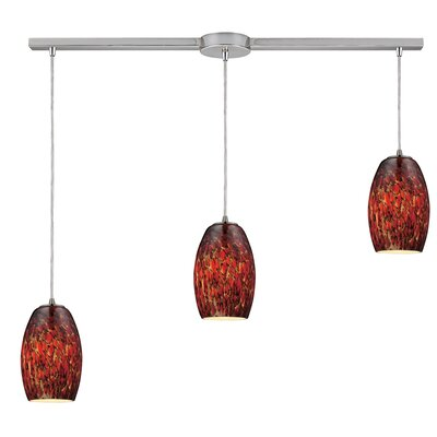 Dorado 3-Light Kitchen Island Pendant