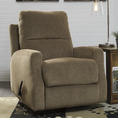 Tremblay Manual Rocker Recliner Upholstery: Taupe