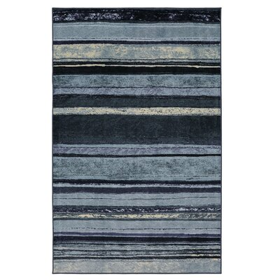 Claireville Blue/Ivory Area Rug