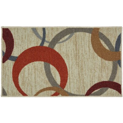 Pill Beige Area Rug Rug Size: Rectangle 5 x 7