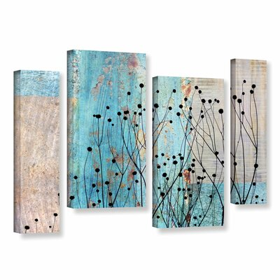 Dark Silhouette III 4 Piece Graphic Art on Wrapped Canvas Set Size: 24