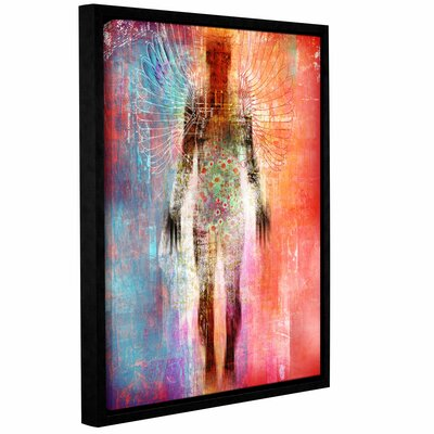 Wonder I Framed Graphic Art on Wrapped Canvas Size: 18