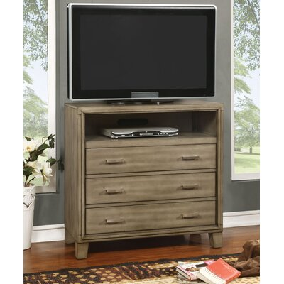 Leporis 36 TV Stand Color: Gray