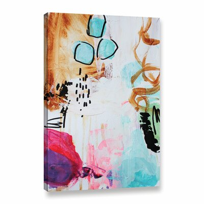 It's a Boy Painting Print on Wrapped Canvas Size: 12