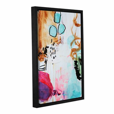 It's a Boy Framed Painting Print on Wrapped Canvas Size: 18