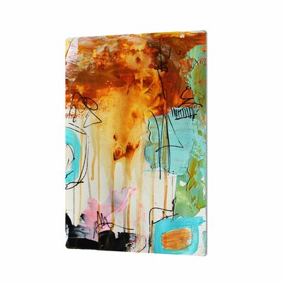 Abstract Rust Painting Print