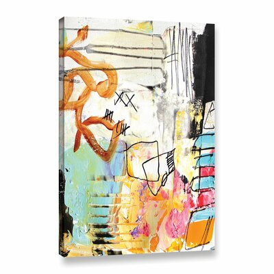 Chaos II Painting Print on Wrapped Canvas Size: 12