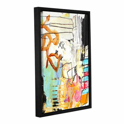 Chaos II Framed Painting Print on Wrapped Canvas Size: 18