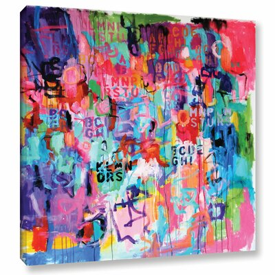 Chaos III Painting Print on Wrapped Canvas Size: 10