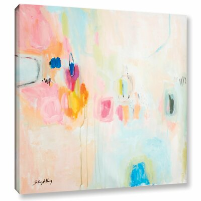 Latitude Run Rosa Abstract Painting Print on Wrapped Canvas