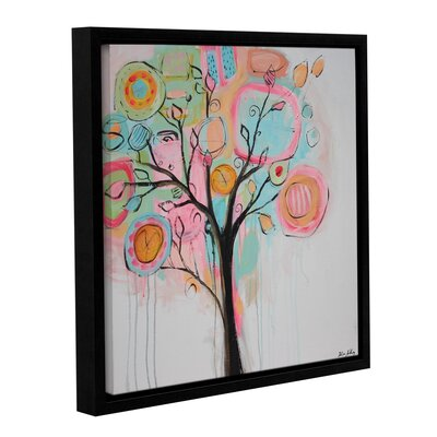 Vibrant Tree Framed Painting Print on Wrapped Canvas LATR6213 33507559