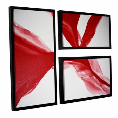 The Cleaving 3 Piece Framed Painting Print Set