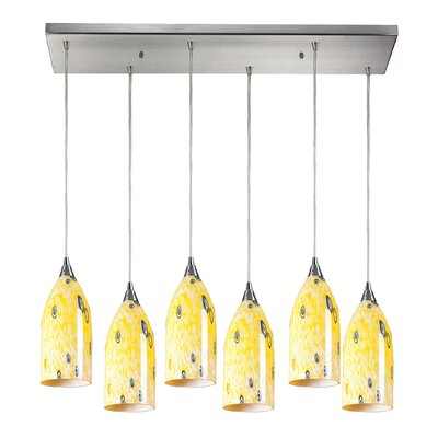 Leakey 6-Light Kitchen Island Pendant