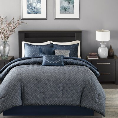 Gold Coast 7 Piece Comforter Set Size: California King