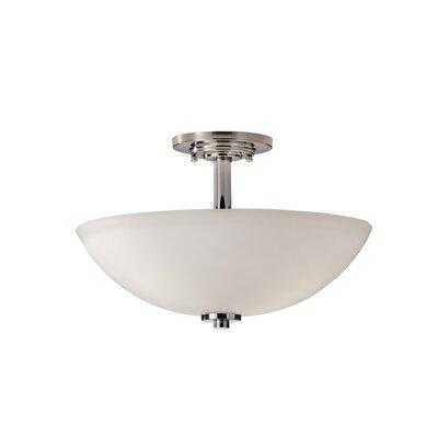 Arlon 3-Light Semi-Flush Mount