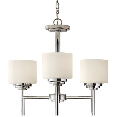 Arlon 3-Light Drum Chandelier