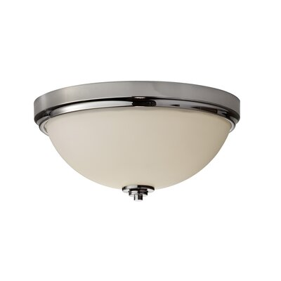 Arlon Light Flush Mount Size: 6.13 H x 13.19 D