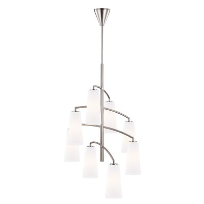 Hengrove 8-Light Shaded Chandelier