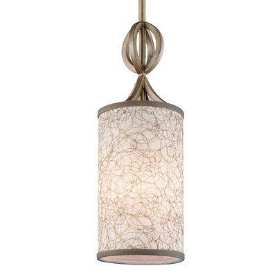 Lambda 1-Light Mini Pendant Finish: Dark Silver